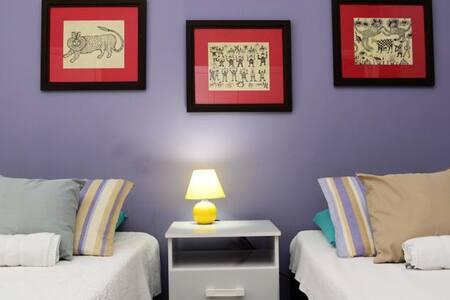 Modern suite with elegant furniture