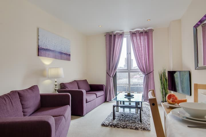CENTRAL COSY APARTMENT  BY BROAD ST ★ FREE PARKING
