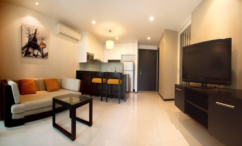 Односпальные апартаменты на Камале