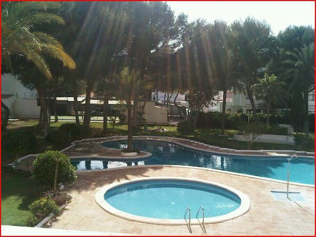Ibiza Apartament with Pool