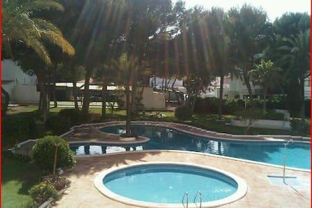 Ibiza Apartamento con piscina - Santa Eulària des Riu - Daire