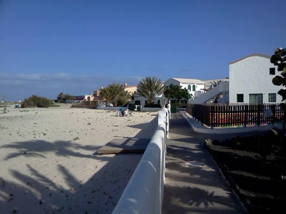 Complejo a pie de playa