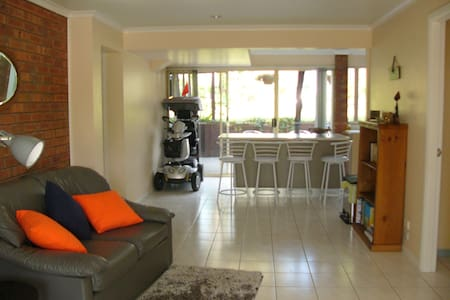 Private access to downstairs area of 2 storey home - Emerald Beach