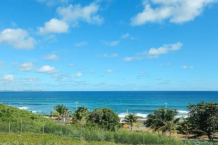 Ocean view from studio - Le Moule