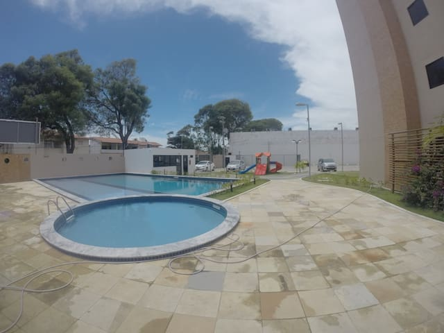 Conforto na Barra de São Miguel - Barra de São Miguel - Apartment