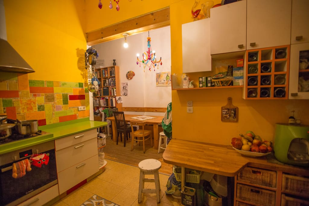 Big modern, comfortable kitchen, with nice surprises