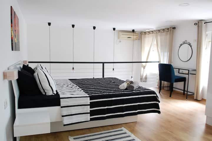 Duplex studio apartment in the heart of Tirana
