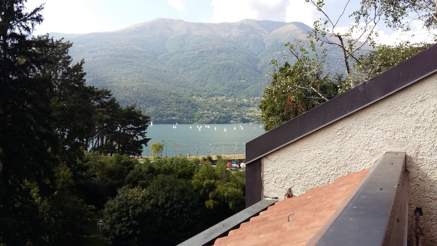 Bilocale vista lago con piscina | Dervio - Dervio - Lägenhet