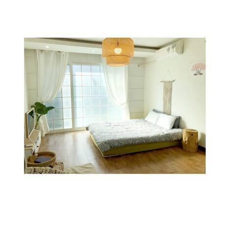 애월읍,곽지해수욕장 가까운 감성숙소,  한담산책로,  해변산책 # 들꽃2