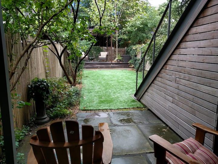 Charming 1 Bedroom Garden Apt