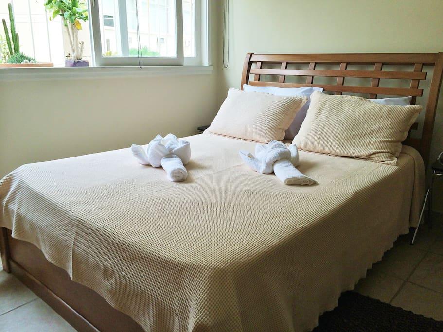 cama de casal.