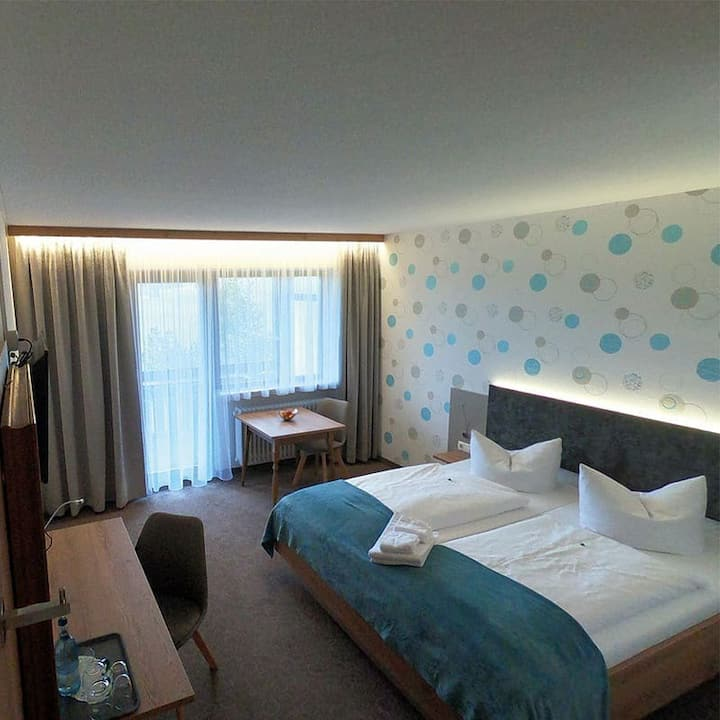 Doppelzimmer im Hotel Allgäu Garni