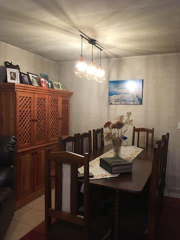 Alojamiento en casa familiar