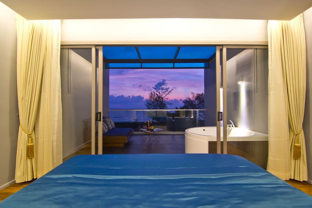 Coral duplex  suite room sea view