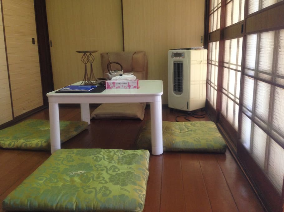 Green View Traditional Kyoto House