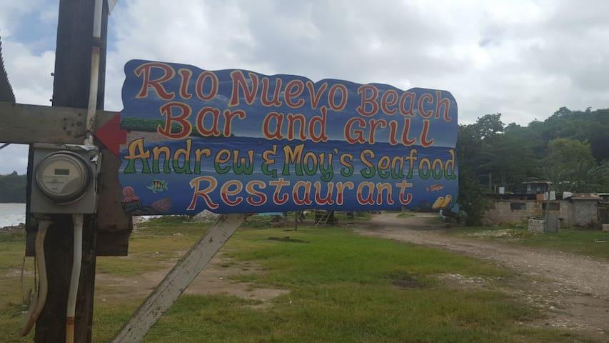 Rio Nuevo Beach located 30 mins from Las Fuentes