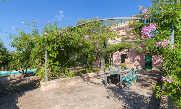 Exclusiva casa mallorquina tradicional con encanto