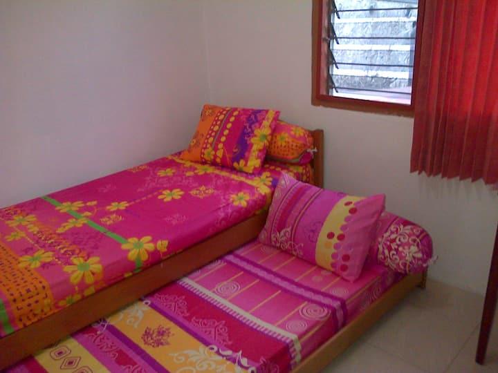 Attic Bedroom in Central Jakarta-1
