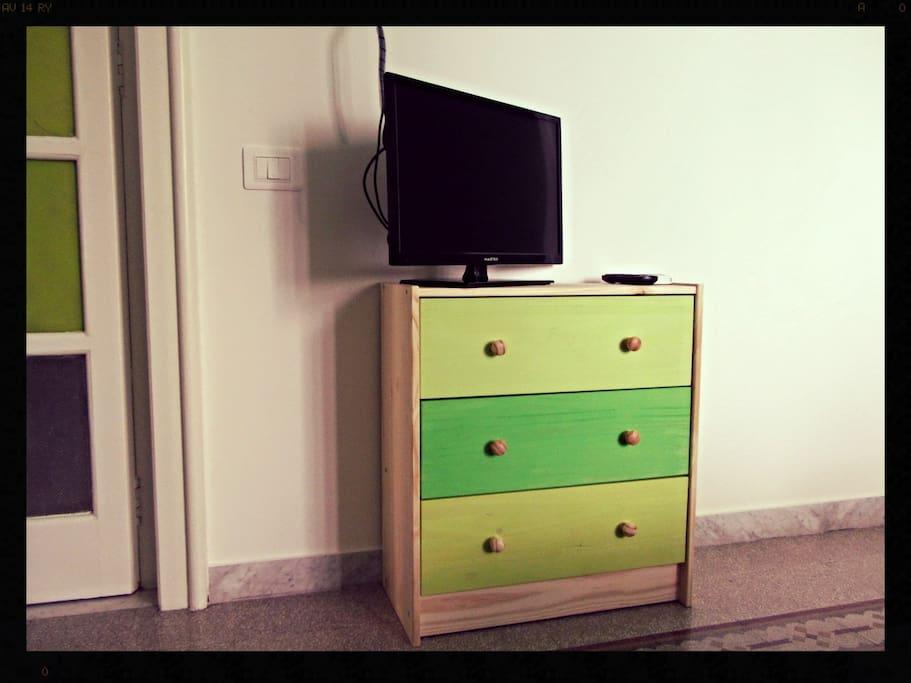 Stanza mela verde - green apple room