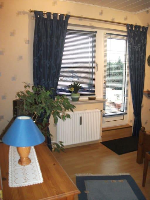 Gästezimmer mit Ausblick und TV