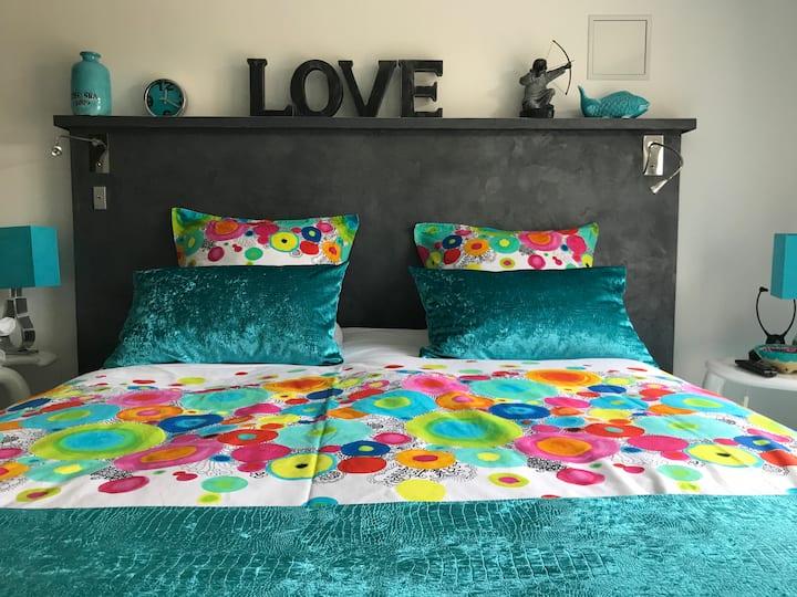 Chambre moderne & cosy