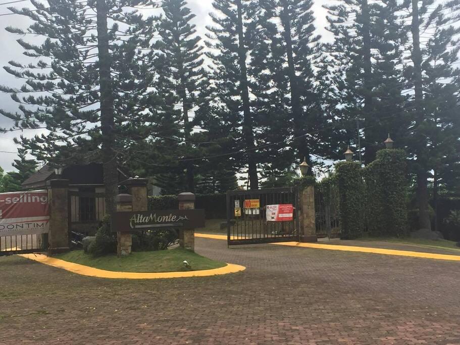 Entrance gate of Alta Monte Exclusive Subdivision