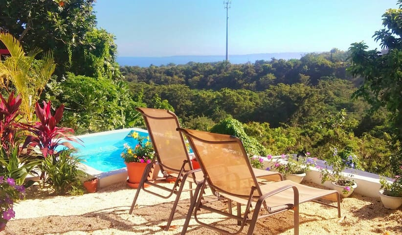 Ocean View, Private Pool & Walk to Sandy Beach - Rincón - Huis