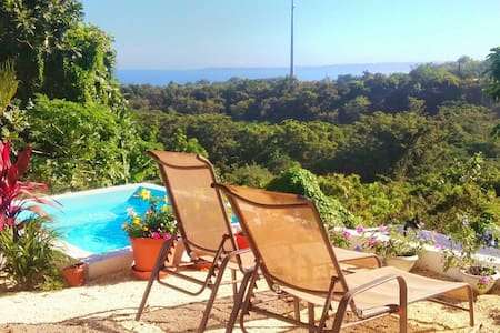 Ocean View, Private Pool & Walk to Sandy Beach - Rincón - Dom
