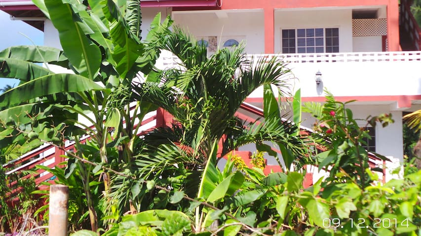 Tobago Tranquil Apt Guest House - Buccoo - Huoneisto