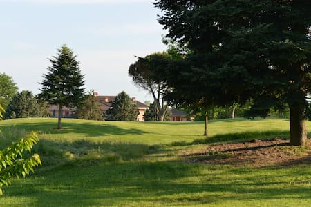 Golf Club house in Monferrato