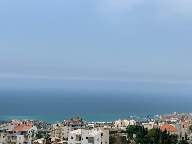 Byblos Panoramic Sea View Appart