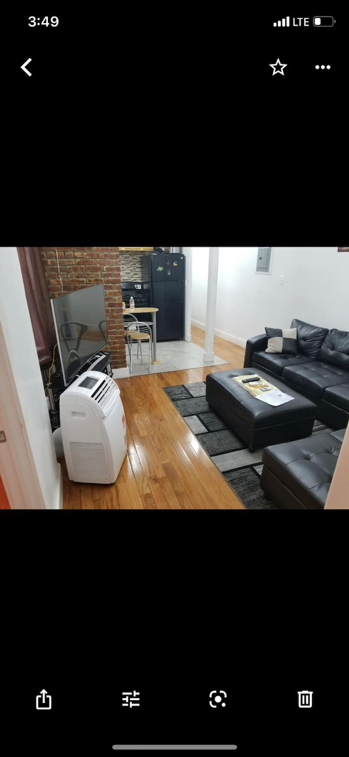 One confy  bedroom in 3 bedroom apartment in Bronx