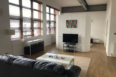 Luxury Modern Loft Style Apartment - バーミンガム - アパート