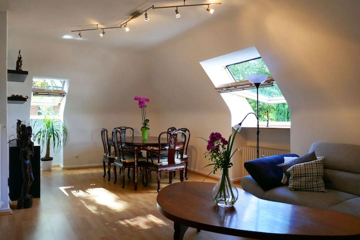 Beautiful apartment with garden&perfect connection