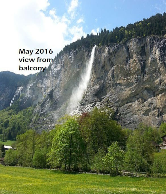 how to get to staubbach falls