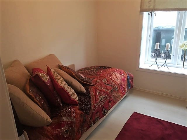 Bedroom With double sofabed