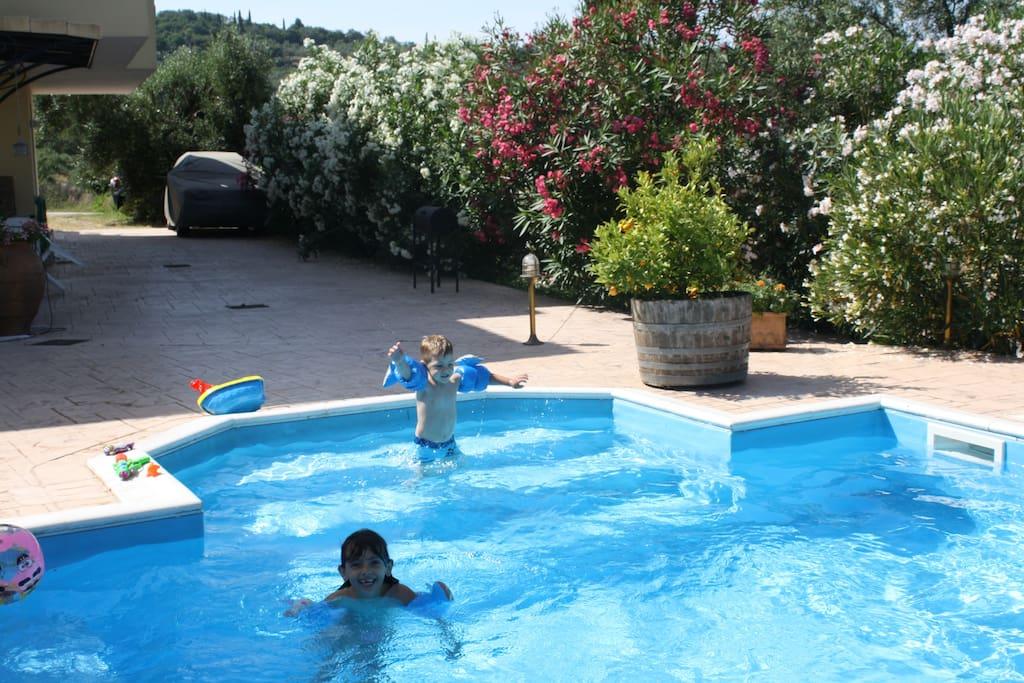 Bourikos House Corfu   Pool