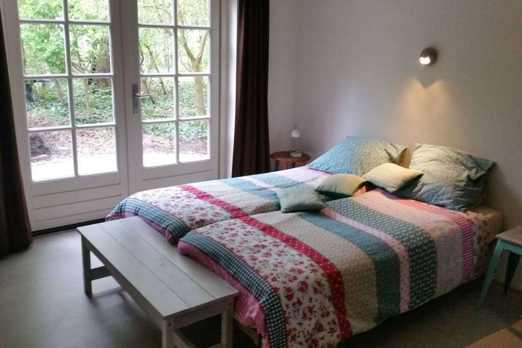 slaapkamer begaande grond