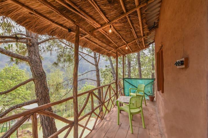 The Mudhouse Resort Kasauli   Mud-Huts in Off-Beat