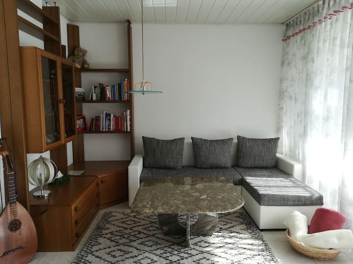 Ferienwohnung Stricker, (Radolfzell-Markelfingen), Ferienwohnung, 90qm, 2 Schlafzimmer für 2-4 Personen
