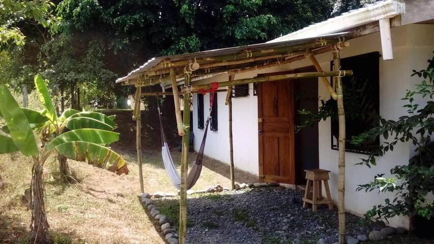 Sol y Luna A/C bedroom with private bathroom #3A/C