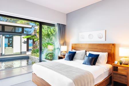 Twin Villas Natai South - 5 Bedrooms Luxury Beachfront Villa