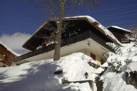 Wohnung im sonnigen Chalet Abigrot - Apartament