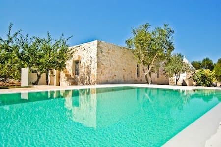 TRULLO FALGHERO with Swimming Pool - Ostuni - Villa