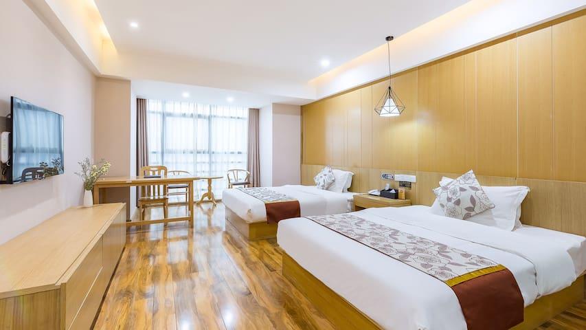 花筑·徐州锦绣星城|高铁东站|阳光双床房