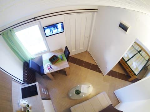 Nieuw! Chocolade studio appartement, Novi Sad