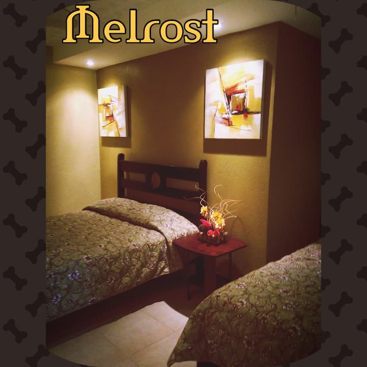 Melrost B&B rooms with private bath