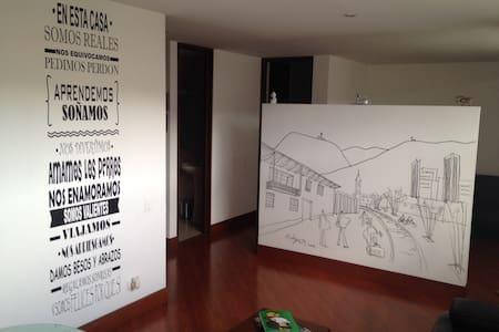Hab Loft con baño privado en ZonaT - Bogotá