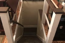 Stairway to attic