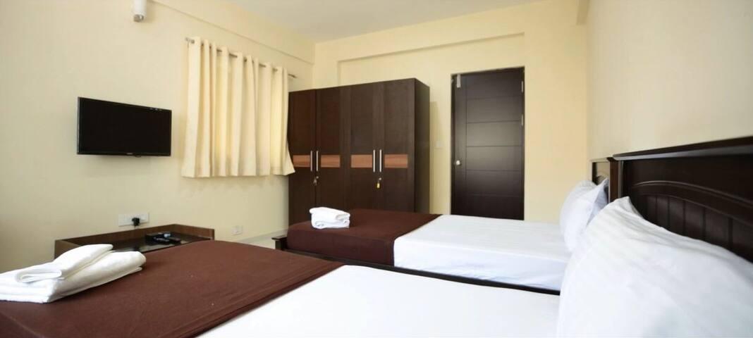 New & Spacious 3 bed apts near Mantri Mall